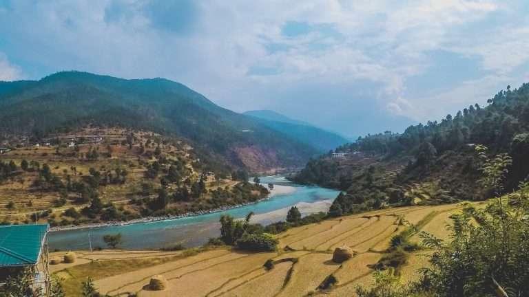 Punakha scenery