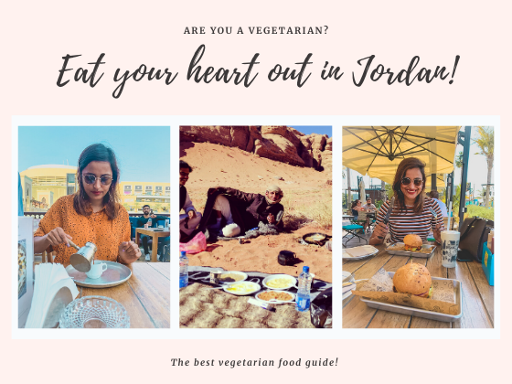 Vegetarian food in Jordan